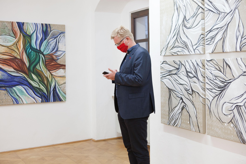 Ausstellungseröffnung Gedankenwege