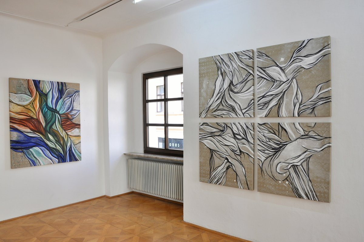 Ausstellungsansicht Gedankenwege