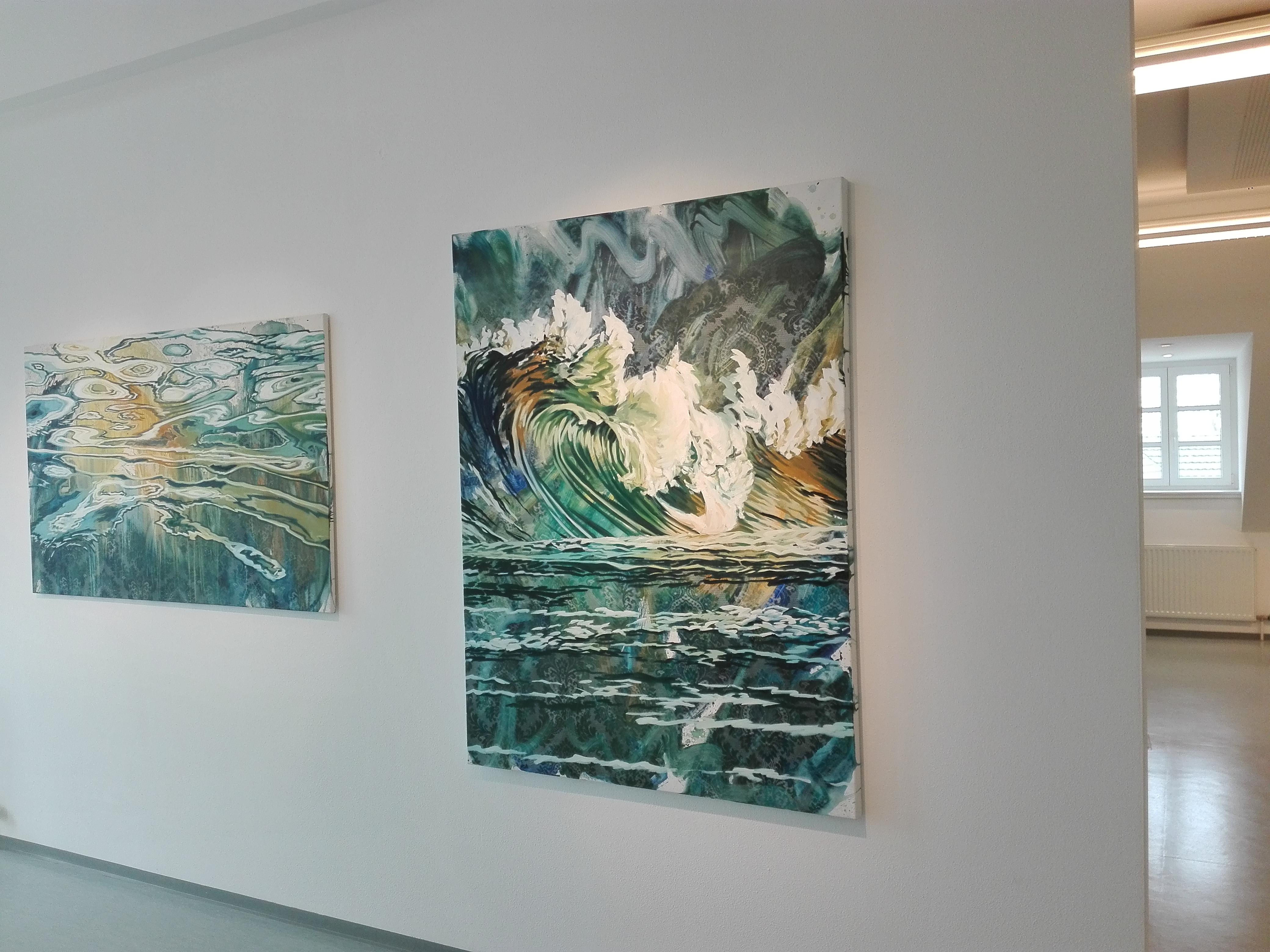 Ausstellungsansicht Immerse