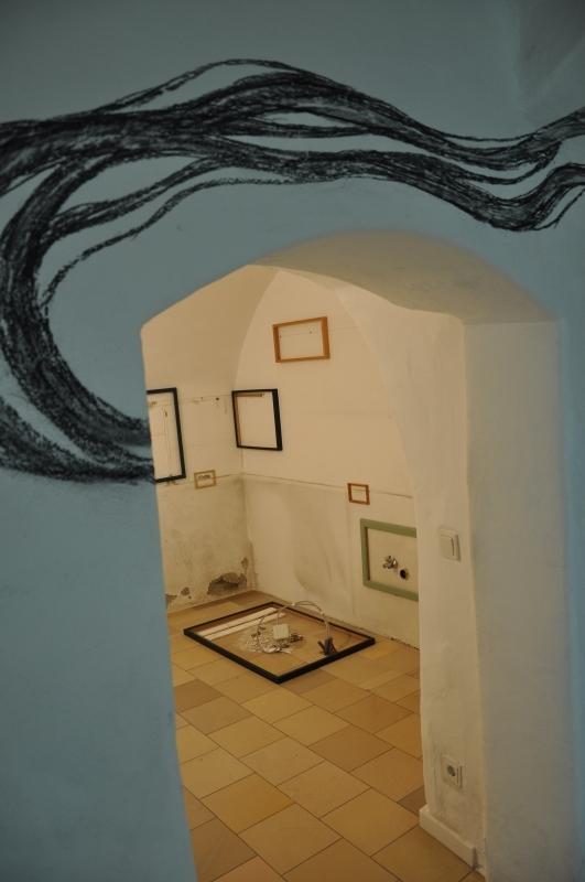 Kollaterale - Spuren - Ausstellungsansicht