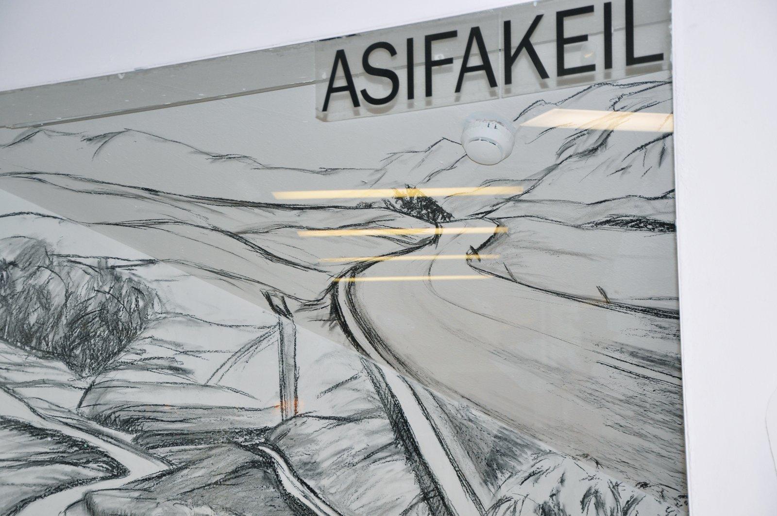 Installation Wegstücke Asifakeil